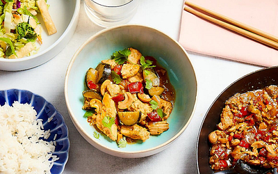 Cadence Kitchen Feature: Chicken  Stir Fry